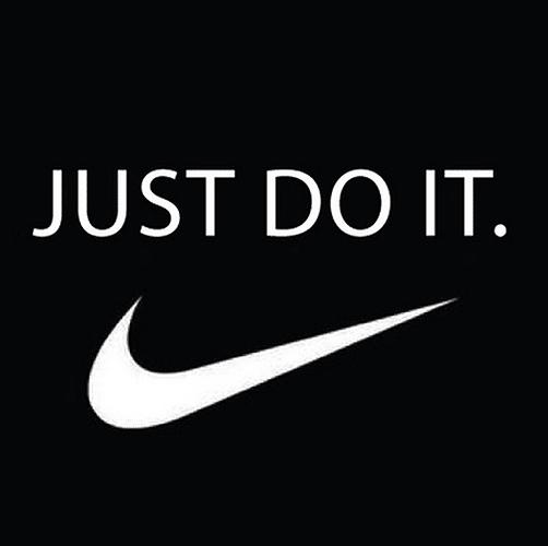 Najaarscampagne van Nike: Just do it!