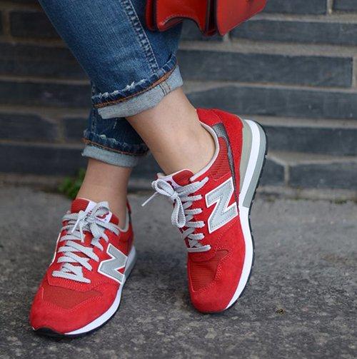 New Balance sneaker, sportief, comfortabel en zeer populair
