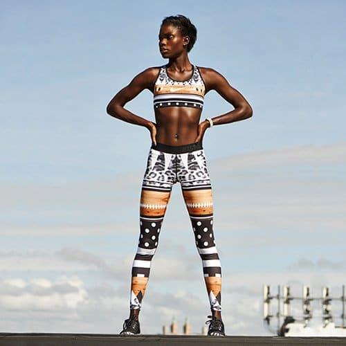 Must-have: Safari tight & bra van Nike