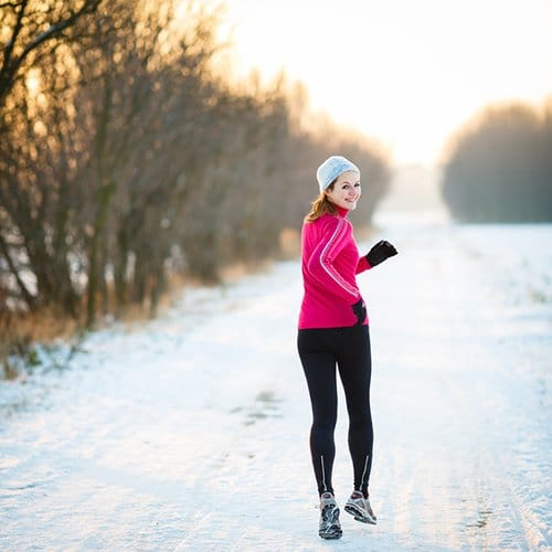 Hardlopen in de winter. Onze tips!