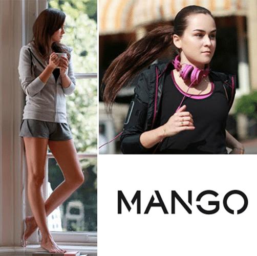 Betaalbare sportcollectie van Mango