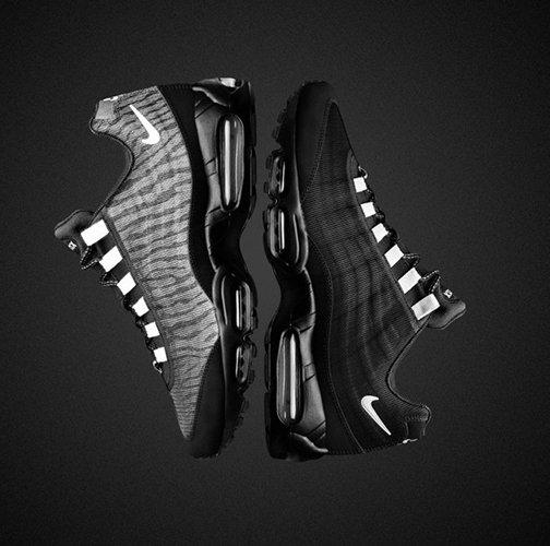Goed zichtbaar met de Air Max 'reflect' collectie van Nike