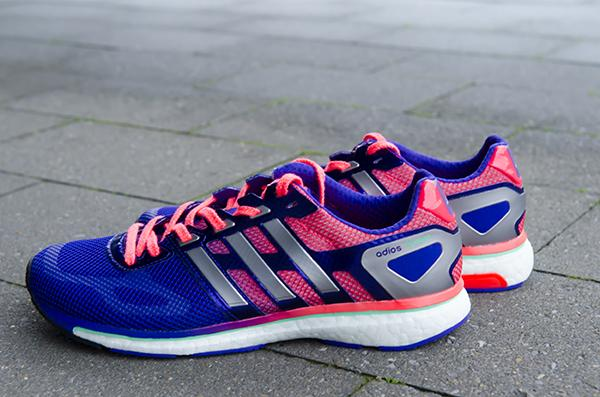 Adidas Boost. Wauw wat een lekker kleurtje
