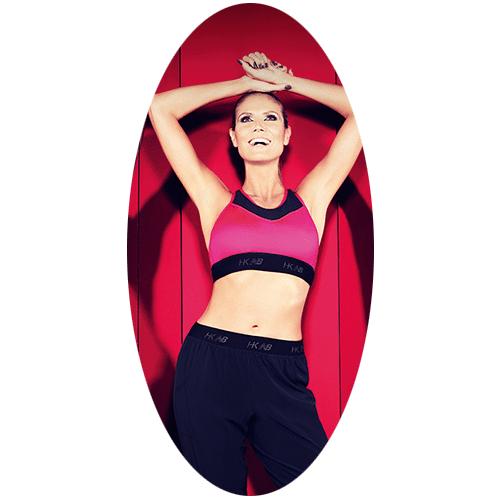 Heidi Klum's collectie voor New Balance